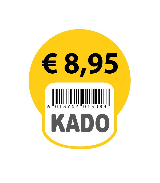 Jumbo KADO stickers